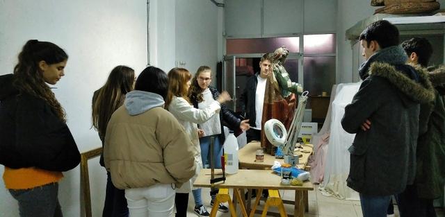 Restauración y conservación del patrimonio artístico.