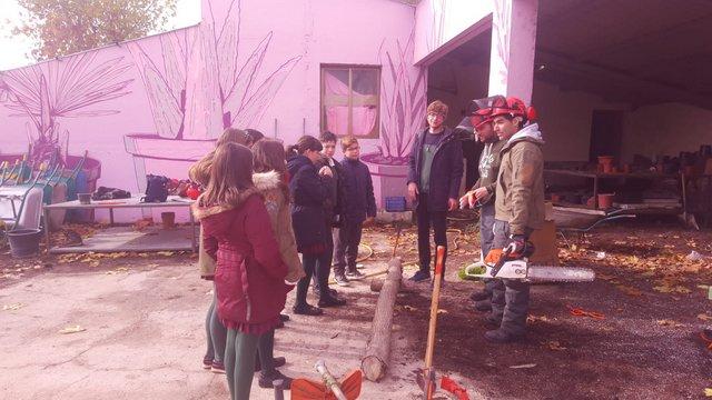 Visita a la Granja Escuela Lorenzo Milani.