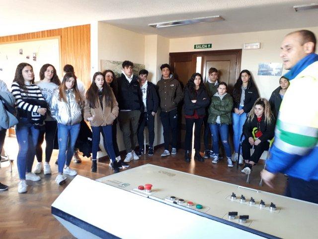 Visita a la ETAP de Salamanca