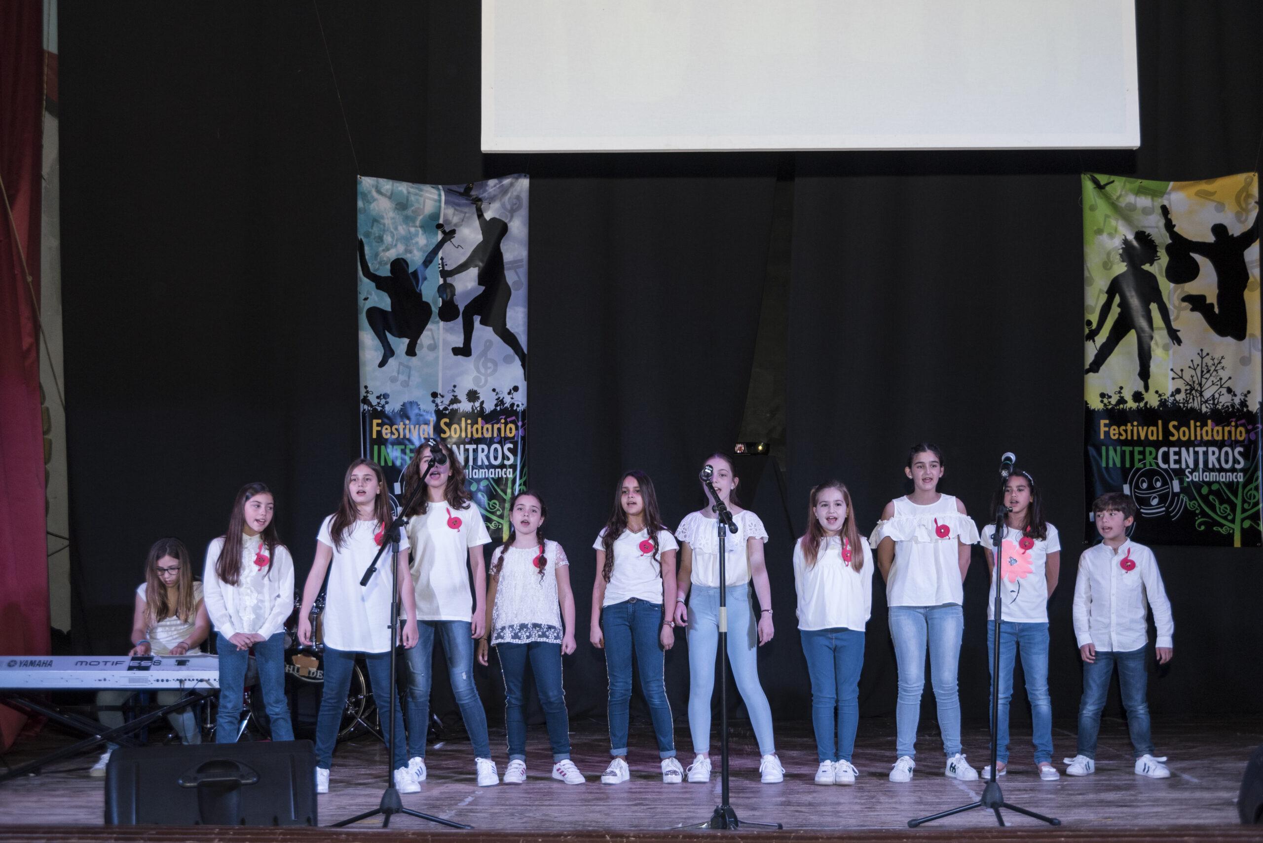 Festival solidario intercentros