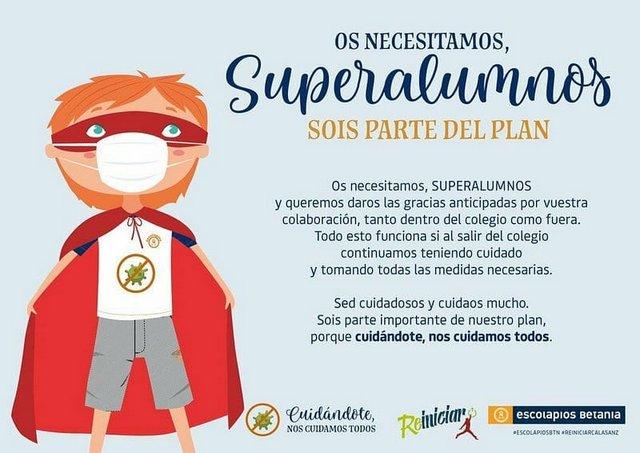 ¡Bienvenidos Superalumnos!