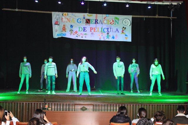 Festival 1º Bachillerato.
