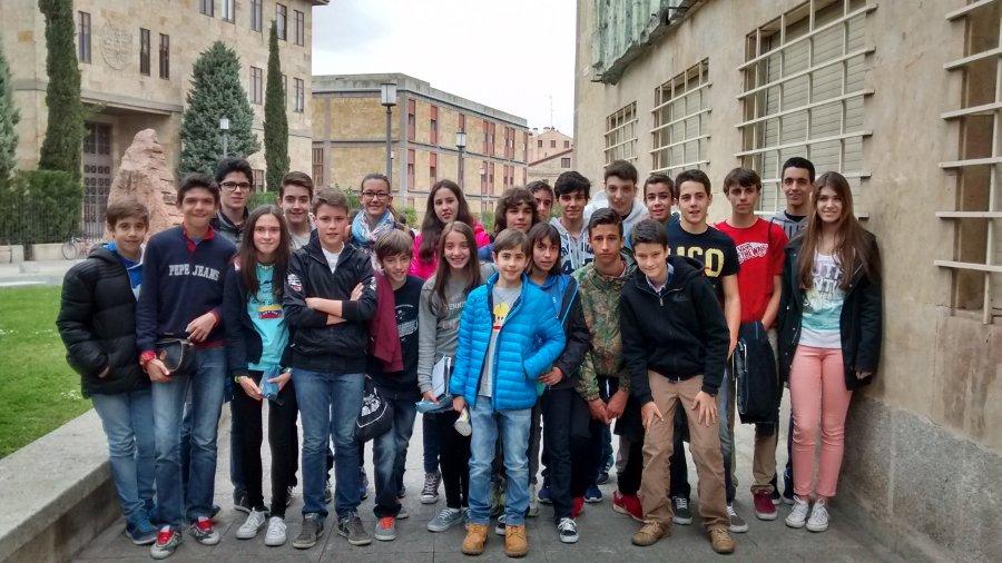 Alumnos en la Olimpiada de Matemáticas